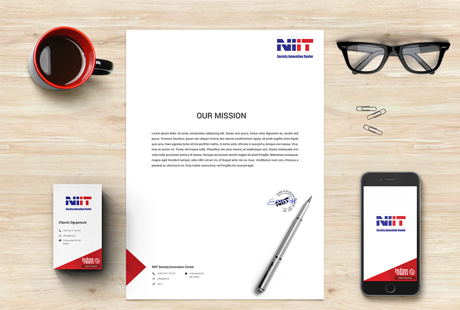 NIIT - Society Innovation Center Stationary Design