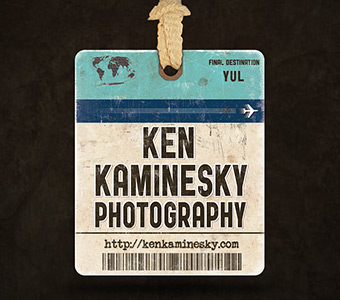 Ken Kaminesky Photography Branding and Web Design